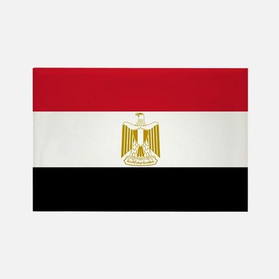 Flag of Egypt Rectangle Magnet
