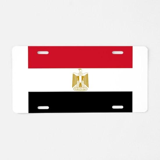 Flag of Egypt Aluminum License Plate