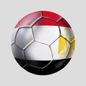 """Egyptian Soccer Ball 3.5"""" Button"""