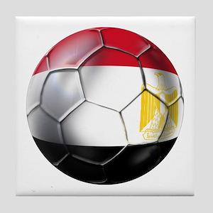 Egyptian Soccer Ball Tile Coaster