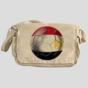 Egyptian Soccer Ball Messenger Bag