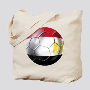Egyptian Soccer Ball Tote Bag