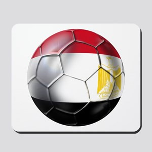 Egyptian Soccer Ball Mousepad