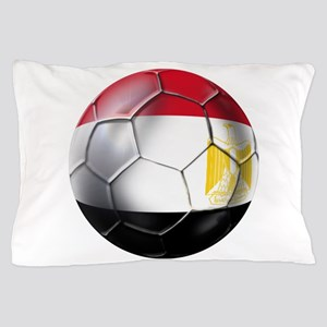 Egyptian Soccer Ball Pillow Case