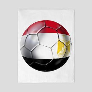 Egyptian Soccer Ball Twin Duvet