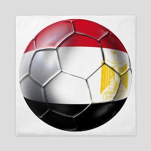 Egyptian Soccer Ball Queen Duvet