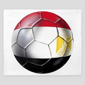 Egyptian Soccer Ball King Duvet