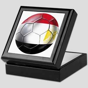 Egyptian Soccer Ball Keepsake Box