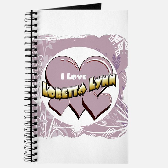 I Love Loretta Lynn Journal
