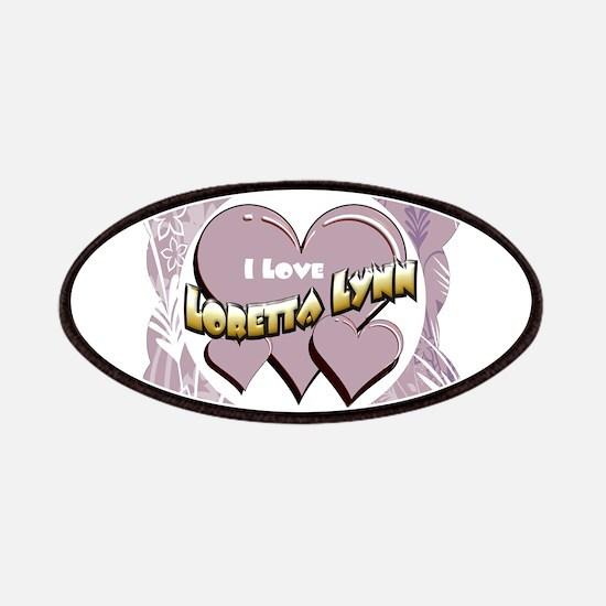 I Love Loretta Lynn Patches