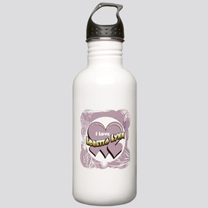I Love Loretta Lynn Stainless Water Bottle 1.0L