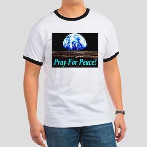 Pray For Peace! Ringer T