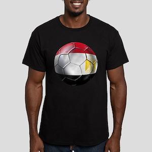 Egypt Soccer Ball Men's Fitted T-Shirt (dark)