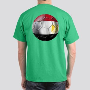 Egypt Soccer Ball Dark T-Shirt