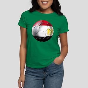 Egypt Soccer Ball Women's Dark T-Shirt