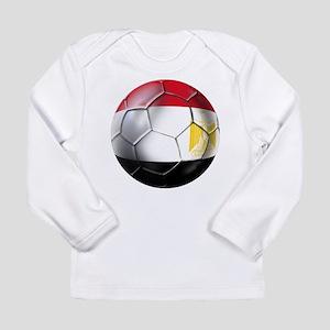 Egypt Soccer Ball Long Sleeve Infant T-Shirt