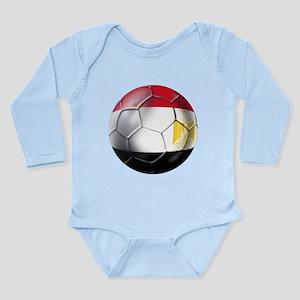 Egypt Soccer Ball Long Sleeve Infant Bodysuit