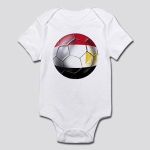 Egypt Soccer Ball Infant Bodysuit