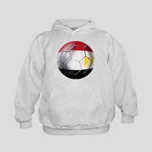 Egypt Soccer Ball Kids Hoodie