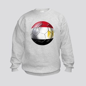Egypt Soccer Ball Kids Sweatshirt