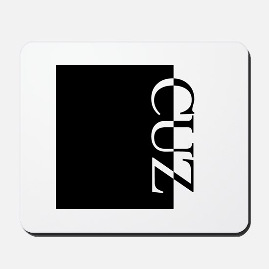 CUZ Typography Mousepad