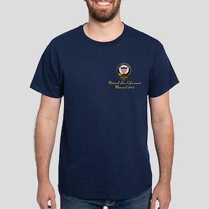 Navy w/Gold Nat'l Law Enforce. & logo on back
