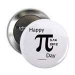 Happy Pi Day Button