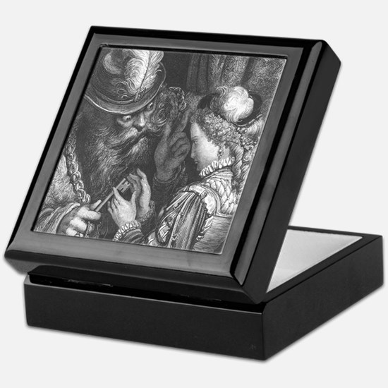 Dore's Bluebeard Keepsake Box