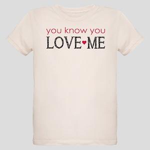 GG You know you love me Organic Kids T-Shirt