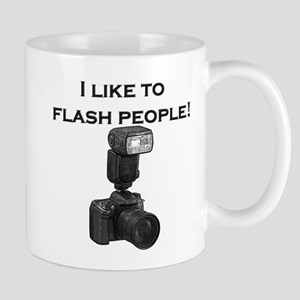 I like to flash people- Mug