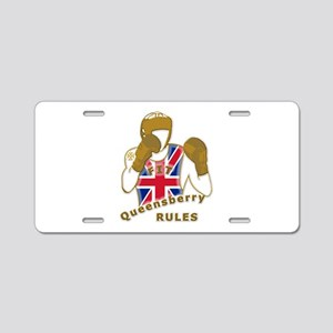 England GB Boxing Aluminum License Plate