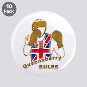 """England GB Boxing 3.5"""" Button (10 pack)"""