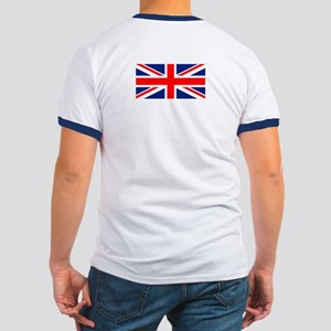 England Gb Boxing Ringer T T-Shirt