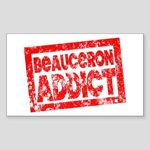 Beauceron ADDICT Sticker (Rectangle)