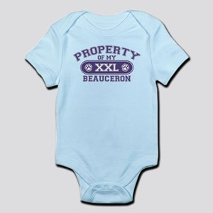 Beauceron PROPERTY Infant Bodysuit