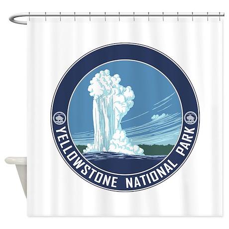 Yellowstone Travel Souvenir Shower Curtain