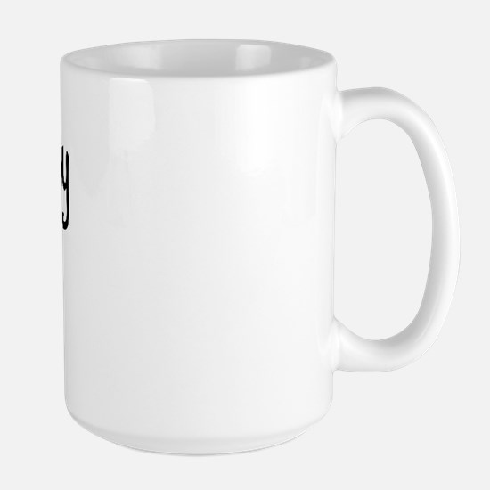 I LOVE MY CASD Large Mug