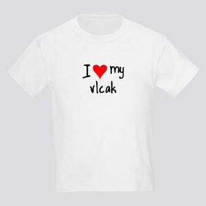 I LOVE MY Vlcak Kids Light T-Shirt