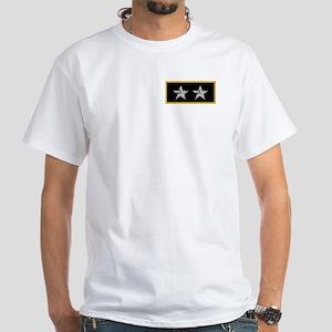 NOAA Rear Admiral<BR>White T-Shirt