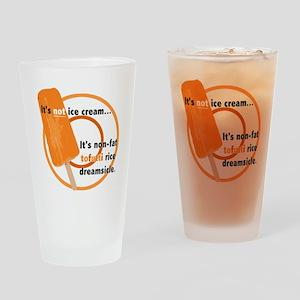 Tofutti Rice Dreamsicle Drinking Glass