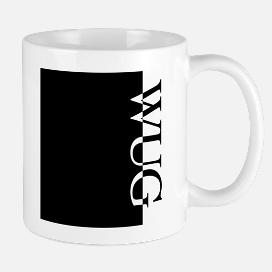 WUG Typography Mug