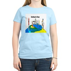 Mothers Day Funny Art Women's Light T-Shirt