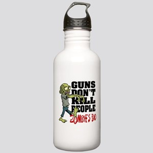Guns Don't Kill People Stainless Water Bottle 1.0L