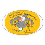 Yellow Logo Sticker (Oval 10 pk)