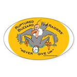 Yellow Logo Sticker (Oval)