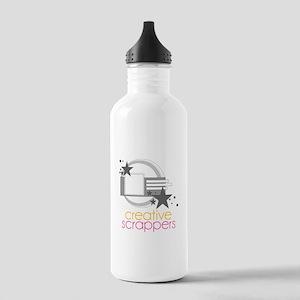 larger logo Stainless Water Bottle 1.0L