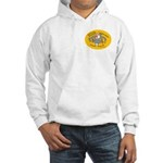 Yellow Logo Hooded Sweatshirt