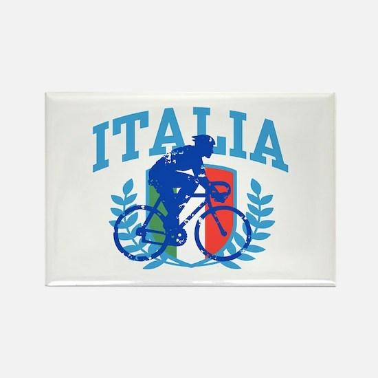 Italia Cycling (male) Rectangle Magnet