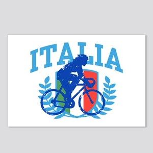 Italia Cycling (female) Postcards (Package of 8)
