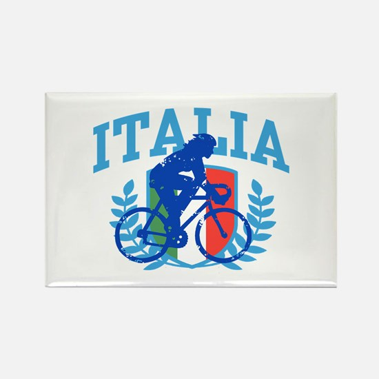 Italia Cycling (female) Rectangle Magnet